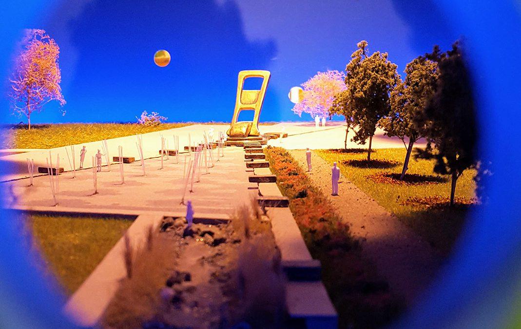 Opening Spoorpark Tilburg met kunstwerk van Loonse kunstenaar Marieke Vromans