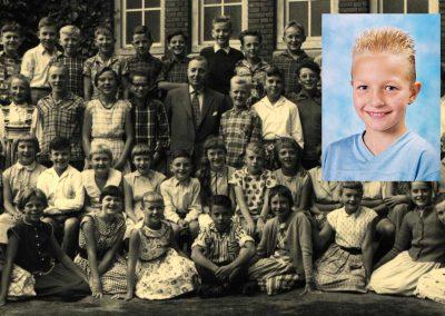22, 29 september en 6 oktober 40 jaar schoolfoto's