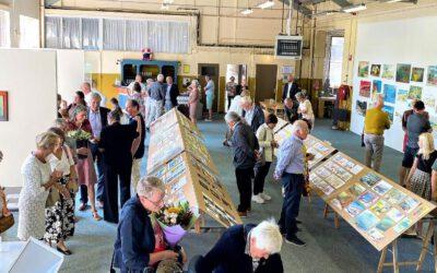 Veel belangstelling voor expositie Marjan Horvers-de Nijs